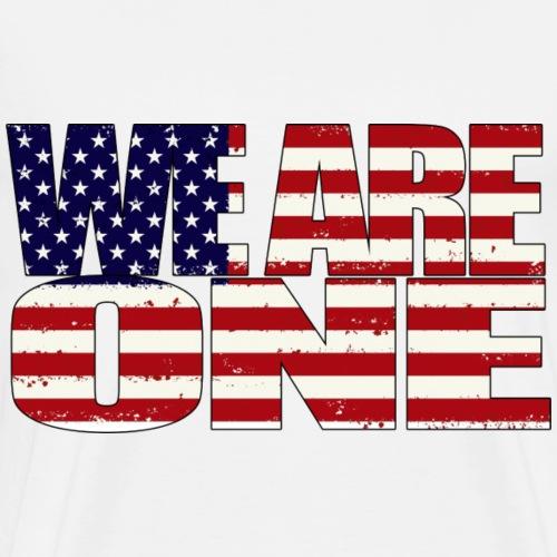 We are one America - Men's Premium T-Shirt