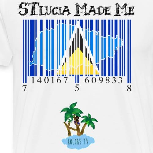 St Lucia made me - Men's Premium T-Shirt