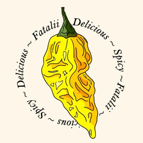 Fatalii Chili Chilli Pepper Spicy Hot - Men's Premium T-Shirt