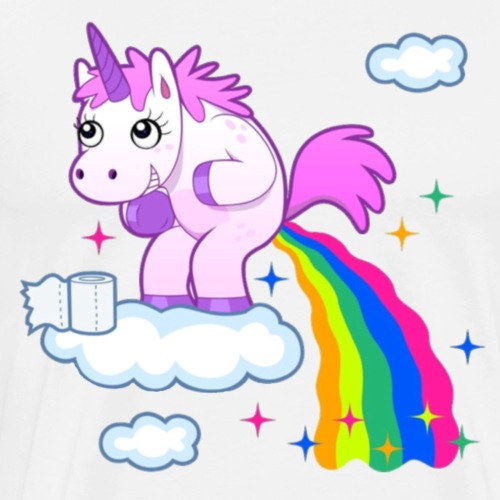 Unicorn Rainbow pp - Men's Premium T-Shirt