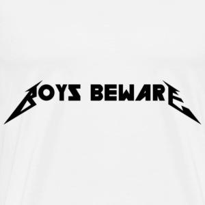 Boys Beware - RIDE THE WHITENING - Men's Premium T-Shirt