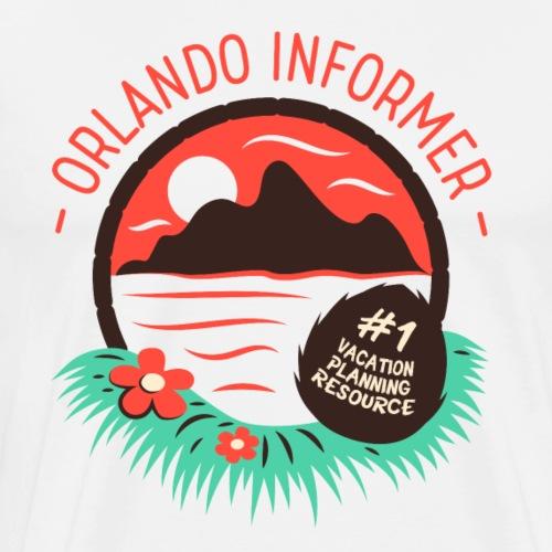 Orlando Informer Island - Men's Premium T-Shirt