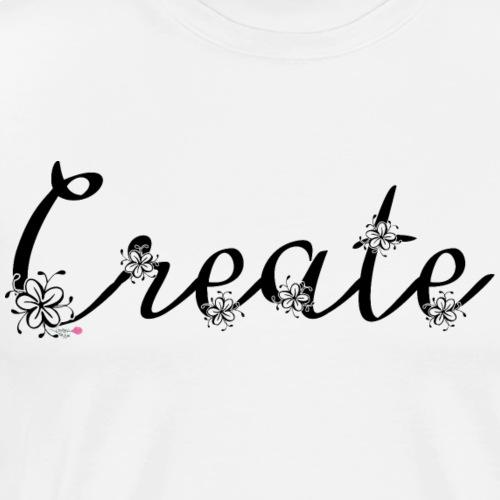 Create Floral - Men's Premium T-Shirt