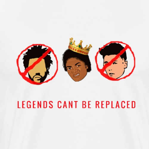 Legends Cant Be Replaced Tee - Men's Premium T-Shirt