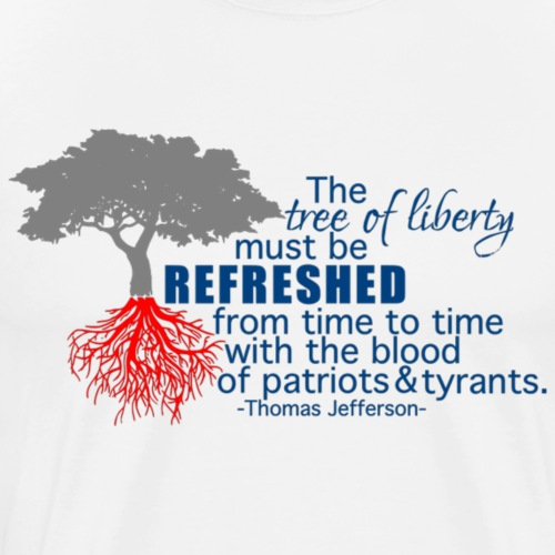 tree of liberty - Men's Premium T-Shirt