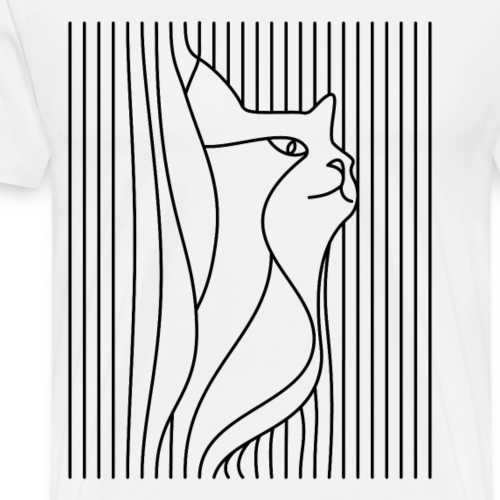The Cat - Men's Premium T-Shirt