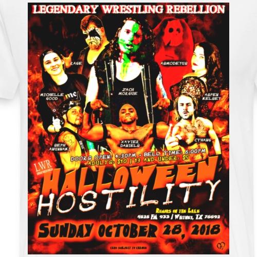 LWR Halloween Hostility - Men's Premium T-Shirt