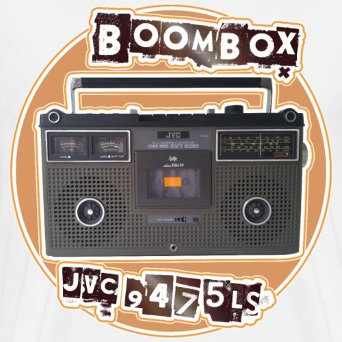 Boombox JVC 9475 LS Ghettoblaster - Men's Premium T-Shirt