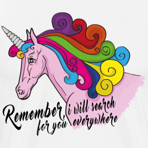 Unicorn of love - Men's Premium T-Shirt