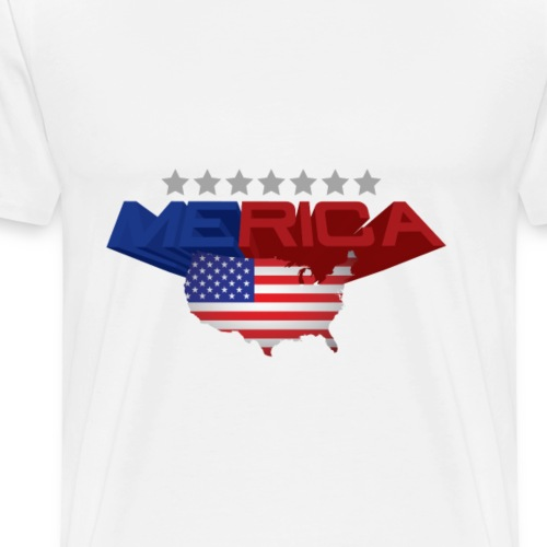 america flag - Men's Premium T-Shirt