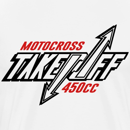 TakeOff-Motocross450cc - Men's Premium T-Shirt