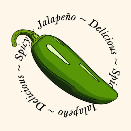 Jalapeno Chili Chilli Pepper Hot Spicy - Men's Premium T-Shirt