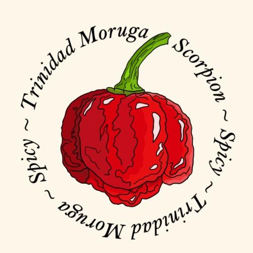 Trinidad Moruga Scorpion Chili Pepper Spicy - Men's Premium T-Shirt
