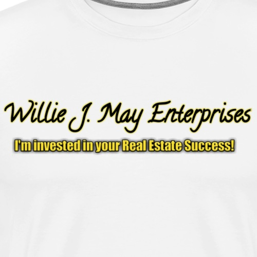 Logo Willie J May Enterprises - Men's Premium T-Shirt