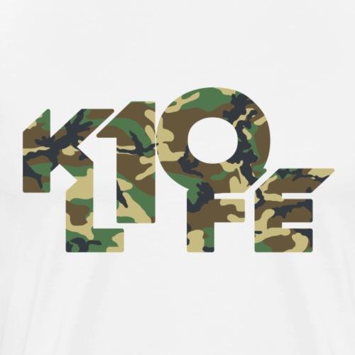 K10Life Camo - Men's Premium T-Shirt