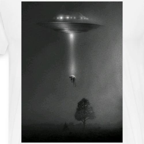Alien Kidnap T-Shirt - Men's Premium T-Shirt