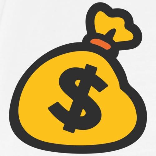 money bag money moves - Men's Premium T-Shirt