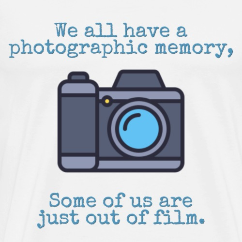 Photographic memory, out of film - Men's Premium T-Shirt
