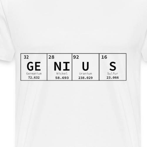 periodic table genius - Men's Premium T-Shirt