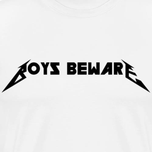 Boys Beware - THE BLACK ALBUM - Men's Premium T-Shirt