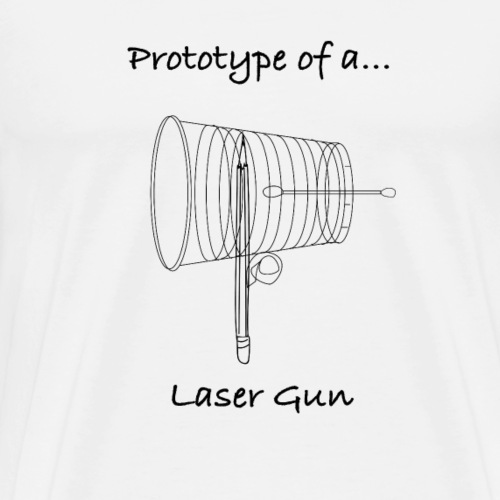Laser Gun - Men's Premium T-Shirt