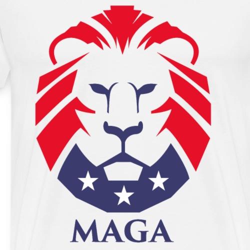 MAGA Lion - Men's Premium T-Shirt