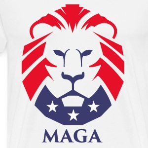 MAGA Lion - Men's Premium T-Shirt