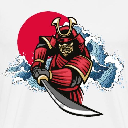 Samurai Damashii - Men's Premium T-Shirt