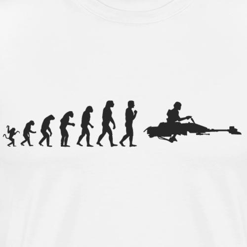 Star Wars Evolution : Speed bike - Men's Premium T-Shirt