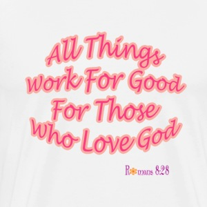 Romans 8:28 - Men's Premium T-Shirt