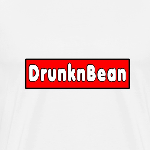 DrunknBean logo - Men's Premium T-Shirt