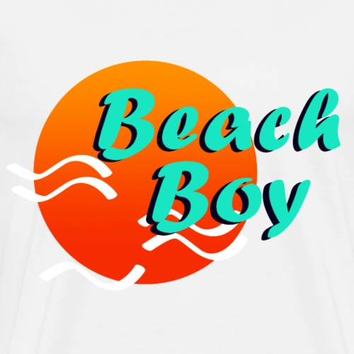 Beach Boy Beach Boy BEACHBOY - Men's Premium T-Shirt
