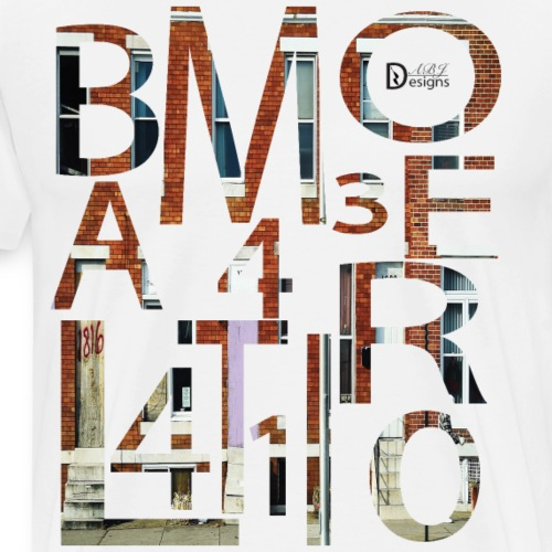 Baltimore Abstract - Men's Premium T-Shirt