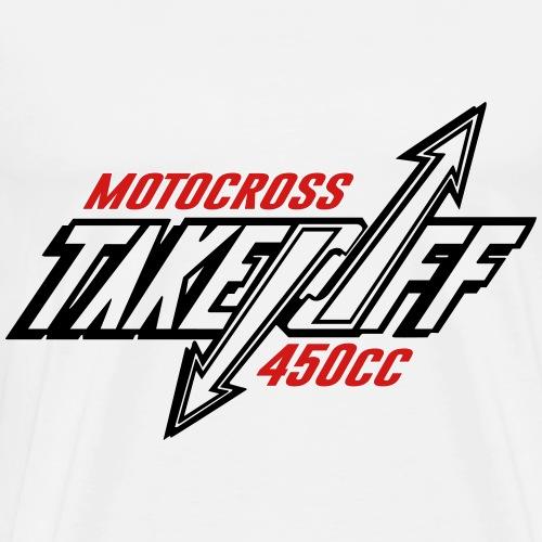 TakeOff-Motocross450cc - Men's Premium T-Shirt
