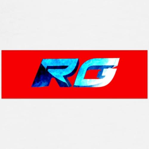 RG supreme box logo - Men's Premium T-Shirt