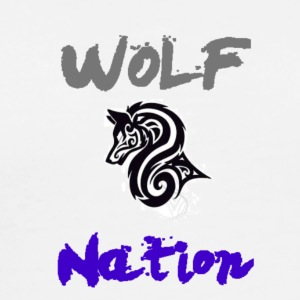 WolfNation size=small - Men's Premium T-Shirt