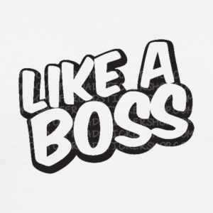 Like A Boss JustMarMar shirt - Men's Premium T-Shirt