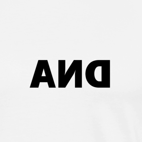 DNA logo reversed - Men's Premium T-Shirt