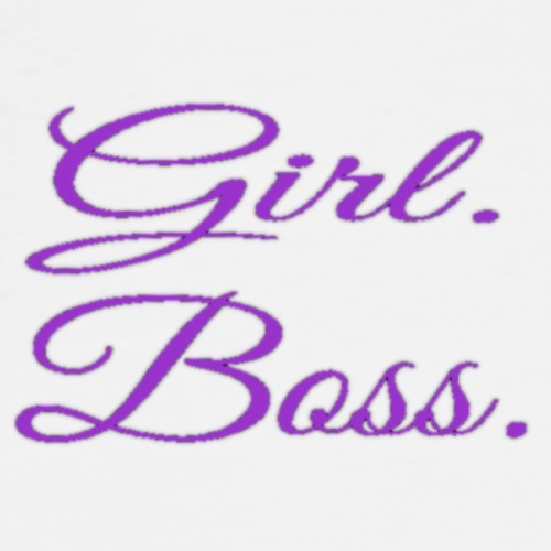 Girl. Boss. - Men's Premium T-Shirt