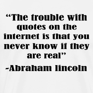 The trouble with the internet - Men's Premium T-Shirt