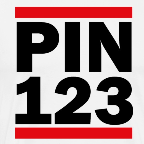 PIN 123 - Men's Premium T-Shirt