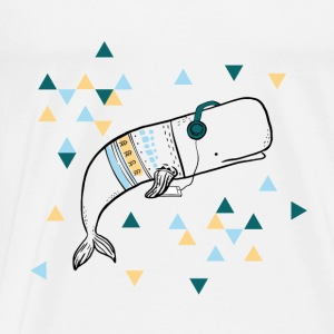 Music Whale - Men's Premium T-Shirt