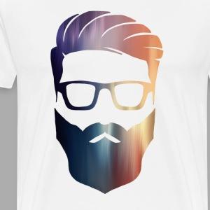 PAINTED HIPSTER - T-shirt premium pour hommes