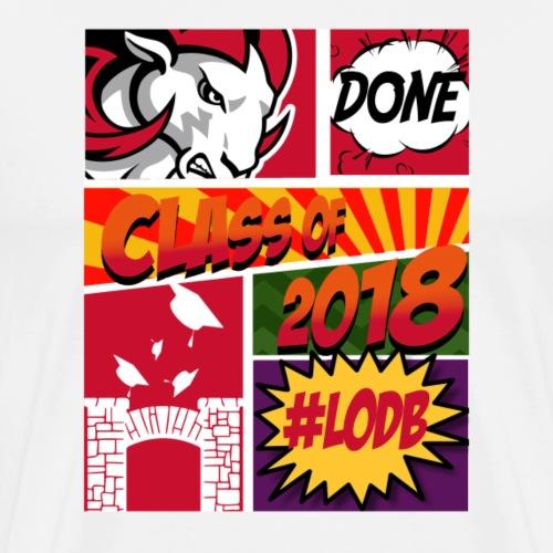 Class of 2018 Comic - Men's Premium T-Shirt
