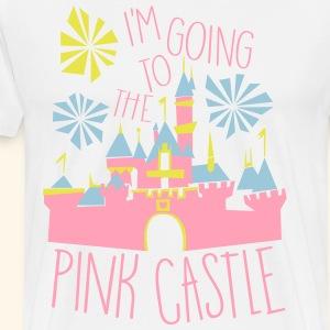 PINK CASTLE! - Men's Premium T-Shirt