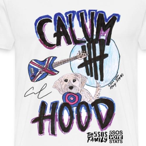 Calum Hood Bass & Obie Print - 5sos TRANSPARENT - Men's Premium T-Shirt