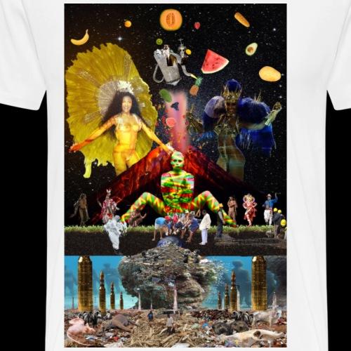 que pacha mama - Men's Premium T-Shirt