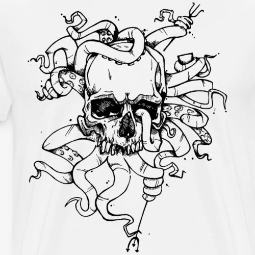 Skulltopus - Men's Premium T-Shirt