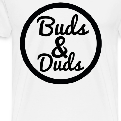 Logo buds & Duds - Men's Premium T-Shirt