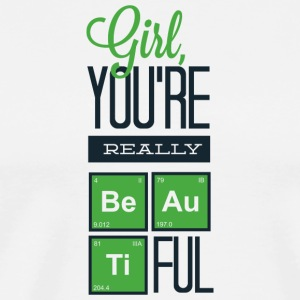 girl_you_are_really_beautiful - Men's Premium T-Shirt